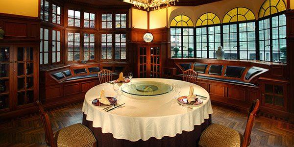 Restaurant in Shanghai Hengshan Moller Villa Hotel